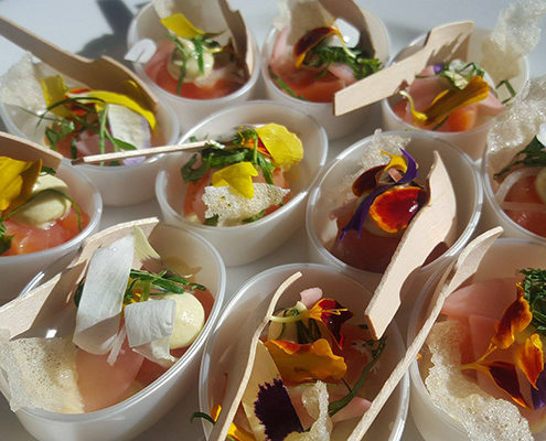 Queenstown Private Catering - Canapes Menu